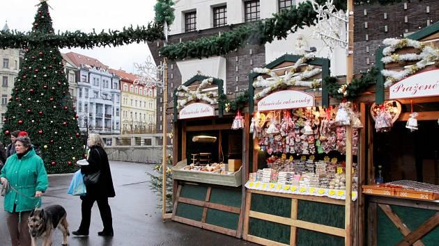 Vánoční trhy začínají už i na Jiřáku
