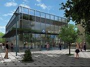 Návrh podoby stanice metra trasy D - Návrh podoby stanice metra trasy D - Nové Dvory.