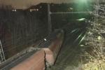 V Malešicích vykolejil nákladní vlak.