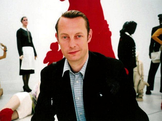 Richard Drury, hlavní kurátor Galerie Středočeského kraje v Kutné Hoře.