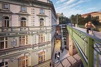 Budova bývalých lázní na Žižkově roky chátrá. Radnice se snaží najít využití. Měl by zde vzniknout Dům tance.