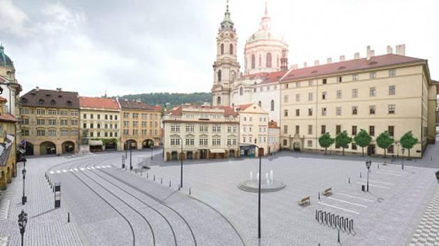 Malostranské náměstí (vizualizace).