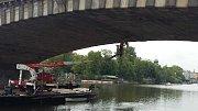 Most Legií v Praze bude na podzim týden zavřený.