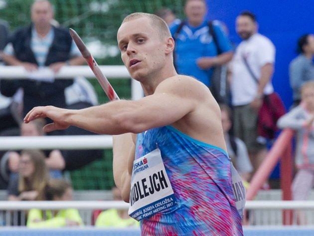 Jakub Vadlejch.