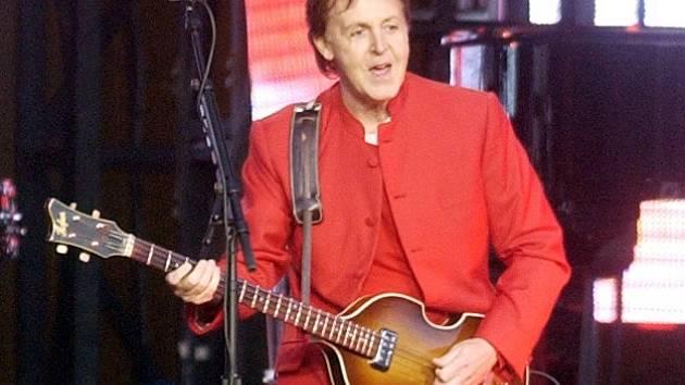 Paul McCartney zavítá do Prahy už 16. června. Ilustrační foto.