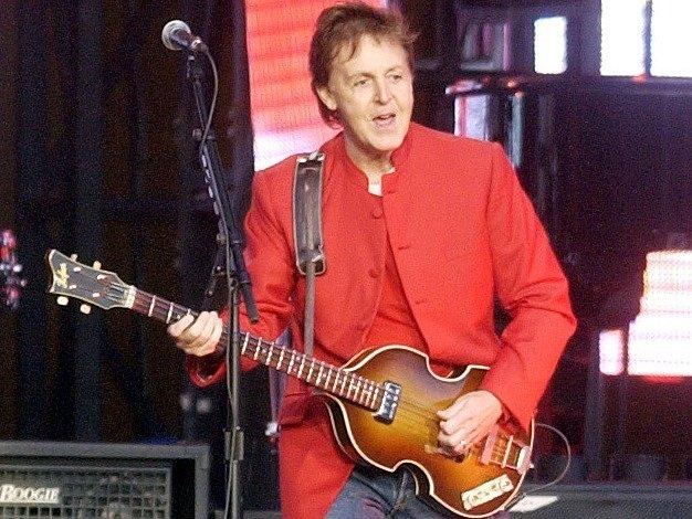 Paul McCartney zavítá do Prahy už 16.června. Ilustrační foto.