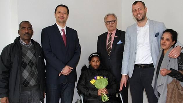 Praha 4 pronajala byt uprchlíkům z Eritreje.
