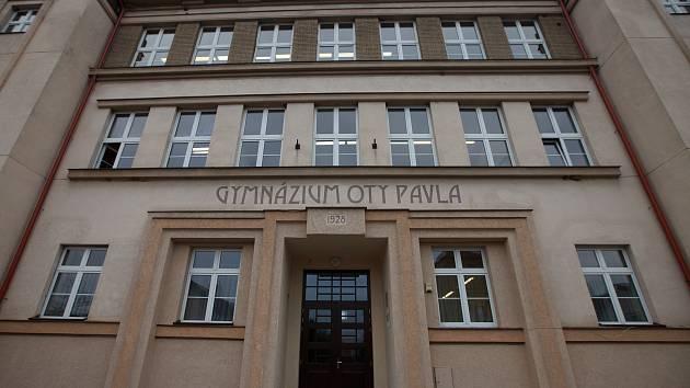 Gymnázium Oty Pavla.