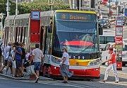 MHD v Praze- tramvaje. Typ 15T.