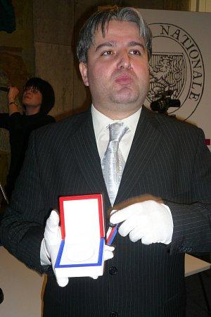 Medailér Otakar Dušek