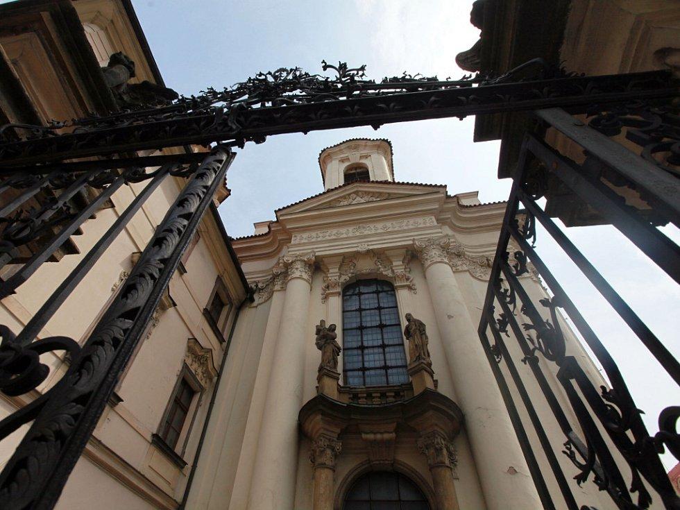 Kostel Cyrila a Metoděje.