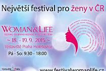 Smyslem festivalu Woman&Life je zprostředkovat ženám všech věkových kategorií co největší množství užitečných informací, které se dotýkají jejich života, osobního rozvoje, rodiny, kariéry a seberealizace a také péče o zdraví a krásu.