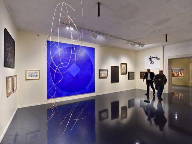 Galerie Zdeněk Sklenář v Mikulandské ulici v Praze.