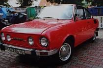 Odcizená Škoda 110R.