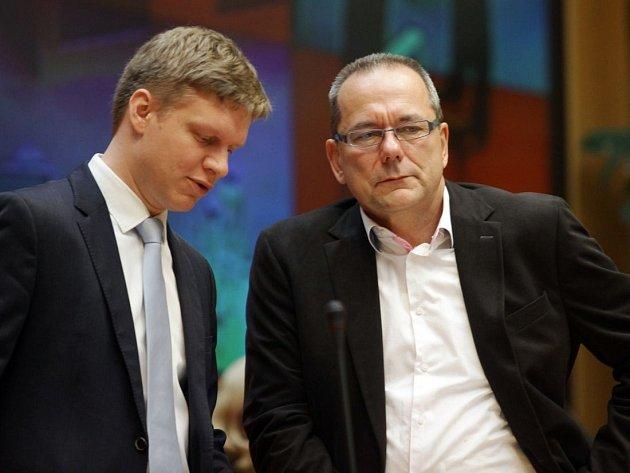 Tomáš Hudeček a Jiří Vávra