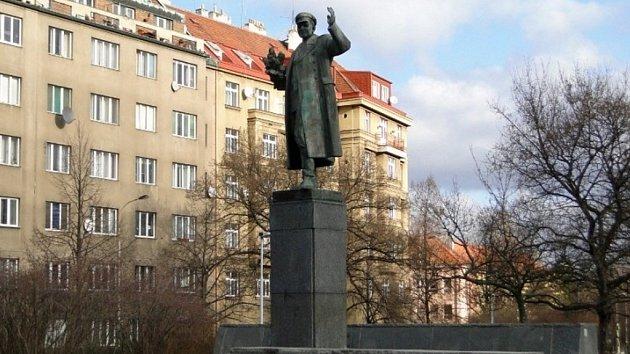 Pomník maršála Koněva.