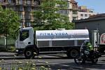 Náhradní zásobování vodou.