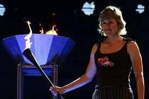 Zažehne takhle jednou olympijský oheň Kateřina Neumannová v Praze?