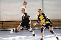 Nejlepší střekyní Kobylis v první lize je Pavla Sukdoláková s osmapadesáti zásahy, v Kunovicích se trefila pětkrát
