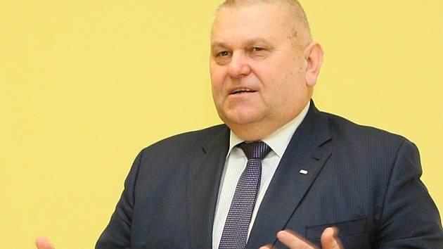 Středočeský hejtman Miloš Petera (ČSSD).