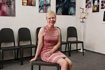 Ředitelka Galerie pro onkologické pacienty Irena Kraftová.