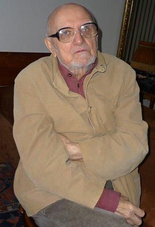 Režisér Miloš Horanský.