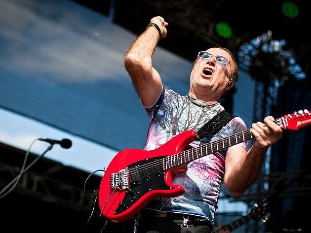 Legenda české rockové scény a frontman kapely Olympic Petr Janda.