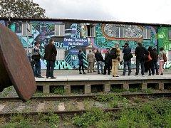 Vlaková zastávka Na Knížecí. Ilustrační foto.
