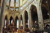 Ukončení svatého roku milosrdenství proběhne v katedrále sv. Víta. Ilustrační foto.
