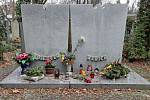 Olšanské hřbitovy, hrob Voskovce a Wericha.