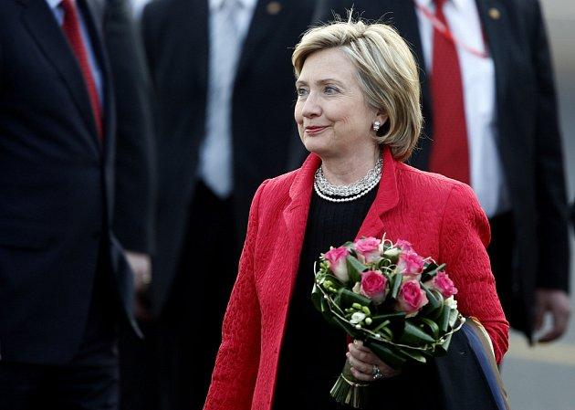 Americká ministryně zahraničních věcí Hillary Clintonová.