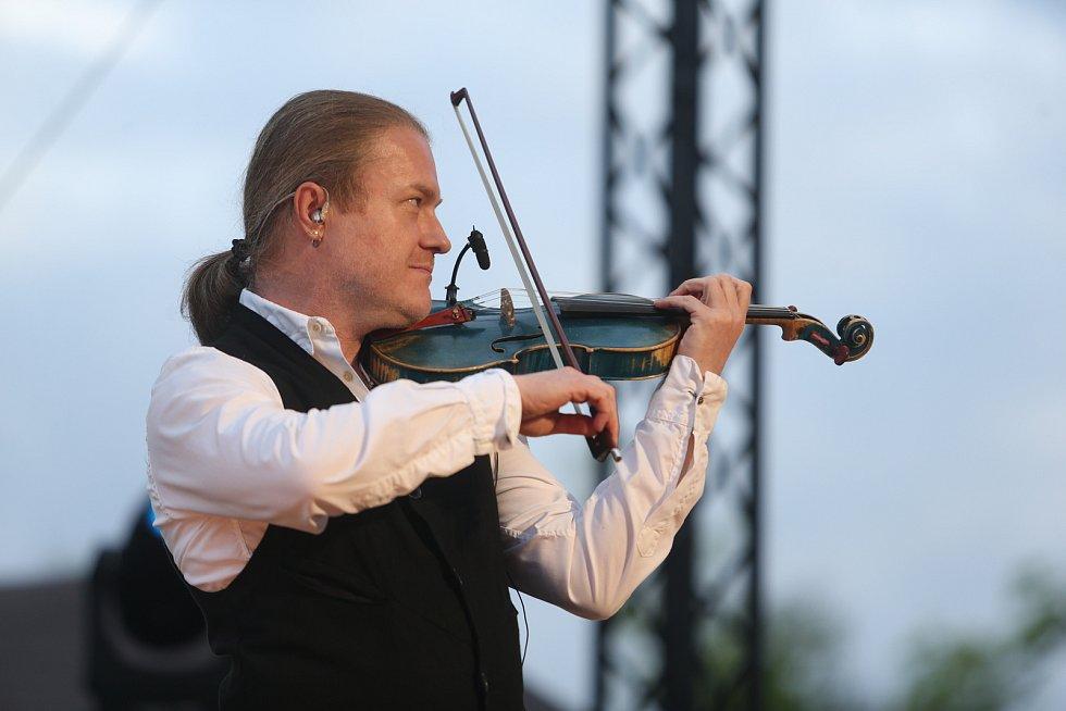 Hudební festival Šance pro kulturu se na Výstavišti konal v úterý 11. května 2021.