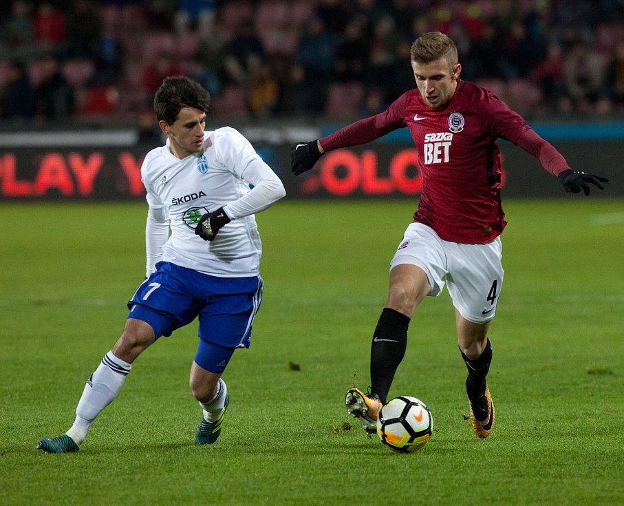 Fotbalová HET liga Sparta Praha - Mladá Boleslav na Letné.