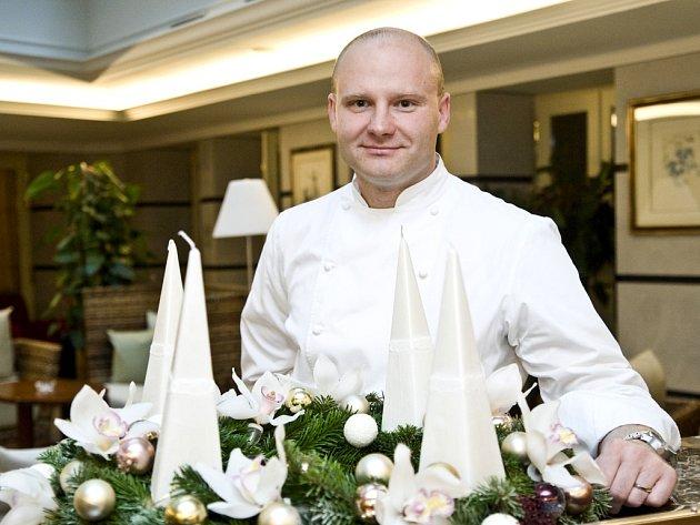 Šéfkuchař David Šašek.