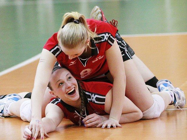 Úsměvné momenty nabízí nejvyšší volejbalová soutěž juniorek.