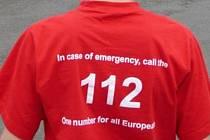 Evropské číslo tísňového volání 112. Ilustrační foto.