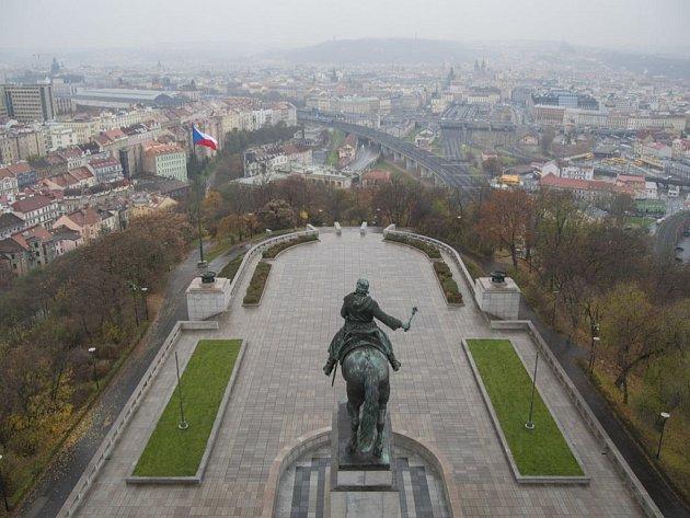Národní památník na Vítkově.