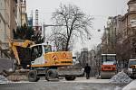 Poslední úpravy probíhaly na pražské Korunovační ulici