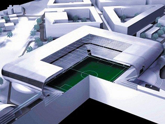 Národní stadion by vznikl přestavbou současného stadionu Sparty.