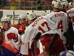 Hokejisté Slavie.