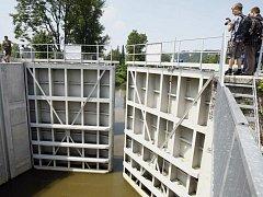 Zahájení zkoušky protipovodňových opatření na Rokytce. Ilustrační foto.