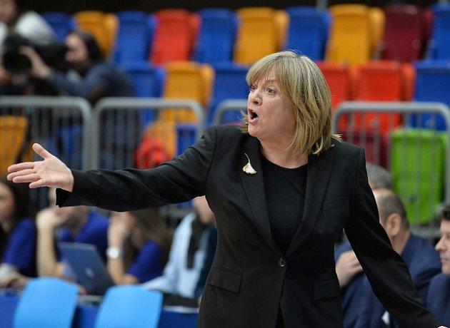 Trenérka týmu USK Praha Natália Hejková.