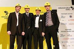 Pavel Franc (druhý zprava) - Rekonstrukce státu