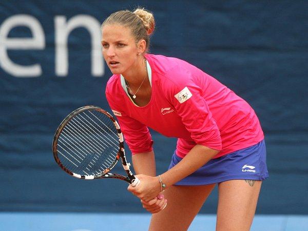 Karolína Plíšková nestačila ve čtvrtfinále na britskou hráčku Heather Watson.