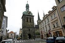 PETRSKÁ VĚŽ. Hlavně díky ní si celá Petrská čtvrť stále uchovává atmosféru staré Prahy.
