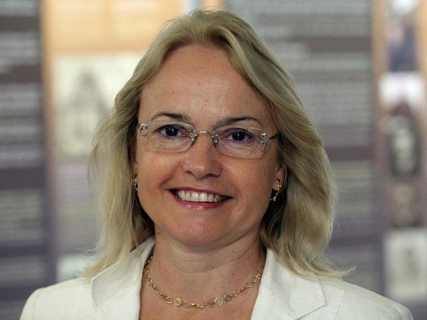 Markéta Pánková, ředitelka Národního pedagogického muzea vPraze.