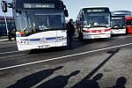 Autobusy PID. Ilustrační foto.
