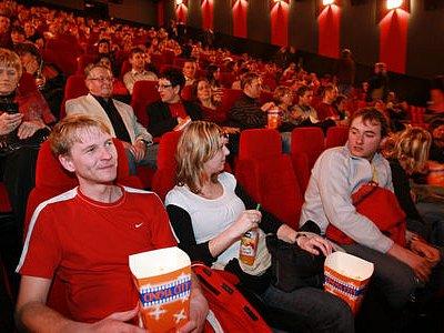 PLNÉ KINO. Na Novodvorské se do pěti sálů s 850 sedadly nalákat diváky nepovedlo./Ilustrační foto