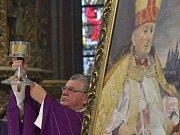 Vzpomínková mše za kardinála Františka Tomáška.