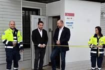 Pražští záchranáři otevřeli novou výjezdovou základnu v Ruzyni.